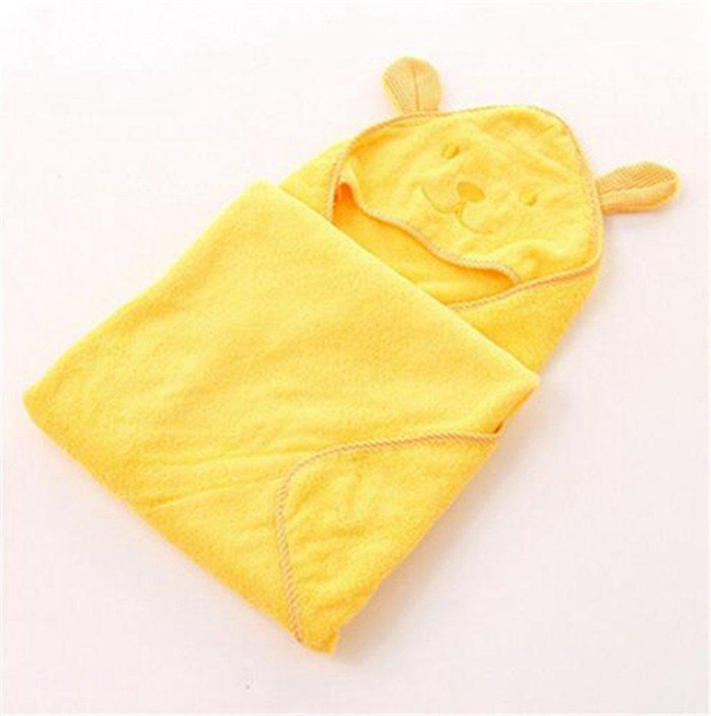 Wmshpeds Baby Handtuch - Baumwolle Umhang mit Kapuze - Bademäntel - saugfähige Handtücher - Baby vier Jahreszeiten Badetuch