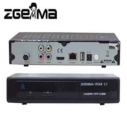 ZGEMMA-STAR LC with one DVB-C Cable tuner Enigma2 Linux OS Full HD FTA  Receiver
