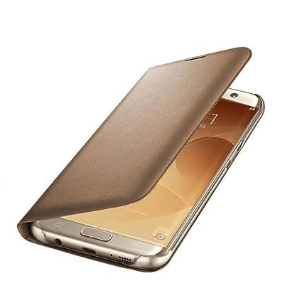 finest selection c1d3e 6ca18 COVERNEW Flip Cover for Samsung Galaxy J7 Max SM-G615FZDDINS(Gold)