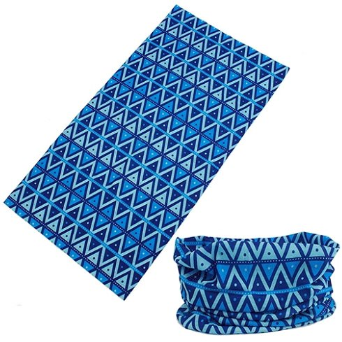 Geo Muffler ([Chivalry] Multi Function Headband with UV Resistance, (Geo Print))