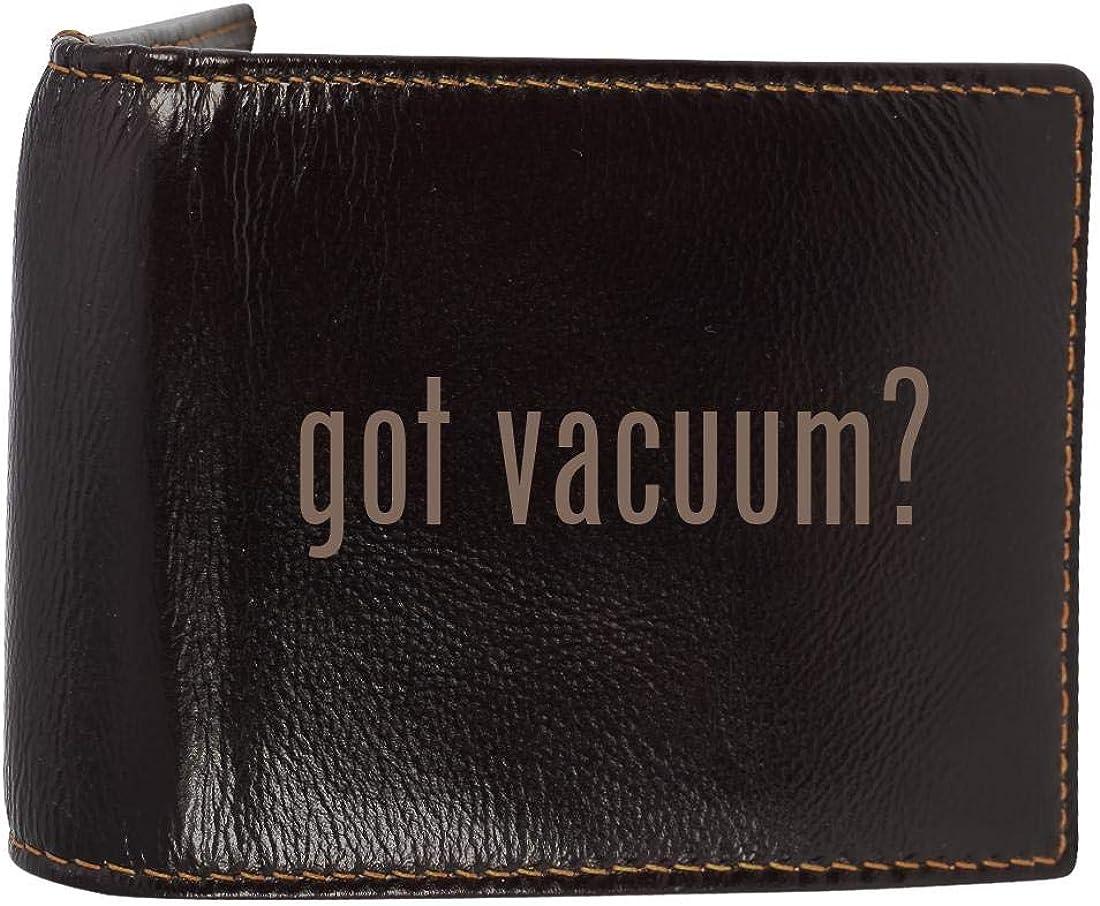 got vacuum? - Genuine Engraved Soft Cowhide Bifold Leather Wallet