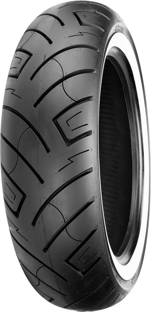 Shinko 777 HD Whitewall Front Motorcycle Tires - 130/90-16 TL 87-4586 by Shinko (Image #1)
