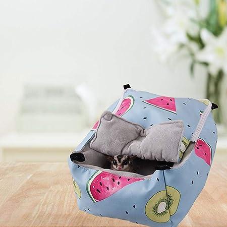 CARTEY Hámster Jaula para Dormir Pet Winter Warm Cama para ...