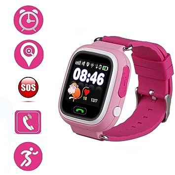 Localizador GPS Niños, Smartwatch Niños, Jslai Reloj ...