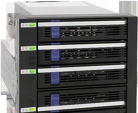 Icy Dock FatCage MB153SP-B - Caja de Disco Duro (3 x 3.5, Indicadores LED, 6 GB/s), Negro: Amazon.es: Informática