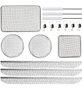 RV Furnaces Bug Screen, Flying Insect Screen for RV Refrigerator Vents,RV Water Heater Screenwith...