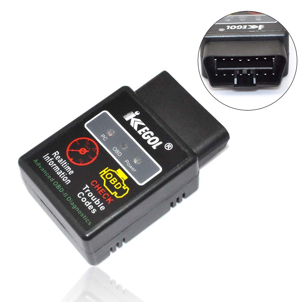 Amazon com ikkegol mini bluetooth obd2 obdii wireless can bus check engine auto scanner interface adapter ecu car code reader torque android automotive