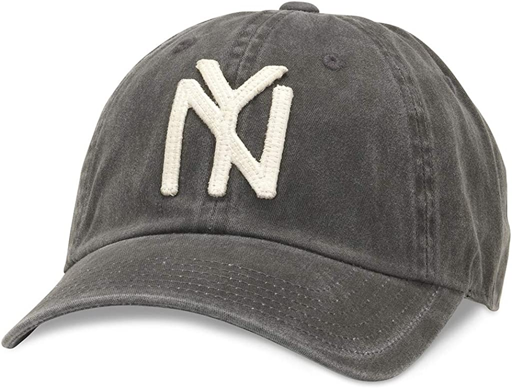 44747A-NBY-BLK American Needle Archive Negro League New York Black Yankees Baseball Hat