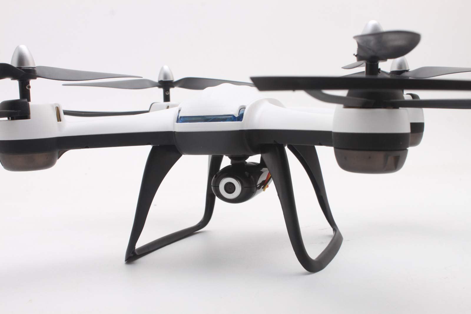 quietJUNjun toy RC Helicopter,DM009 2.4GHz 6-Axis Gyro 5MP Drone (White) by quietJUNjun toy (Image #2)