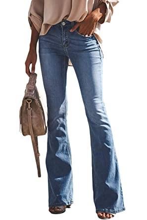 9bbf99cc7ab Image Unavailable. Image not available for. Color: Women's Flare Jeans ...