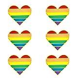 MANVEN LGBT Gay Pride Enamel Pin Queer Trans