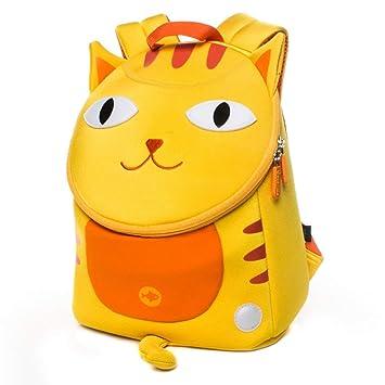Mochila Infantil, Mochilas Bebé Guardería Preescolar para Niño Niña Toddler Backpacks con arnés de Seguridad para niños de 2 a 5 años, Cat: Amazon.es: ...