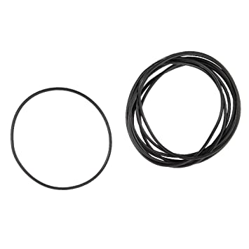 5 St/ück Flexible Gummi O Ring Oil Seal Dichtungen 76 mm x 71 mm x 2,65 mm