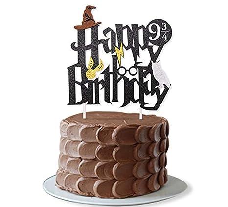 Décorations De Gâteau Danniversaire Jevenis Harry Potter Pour Garçons Décorations De Fête Décorations De Gâteaux Danniversaire