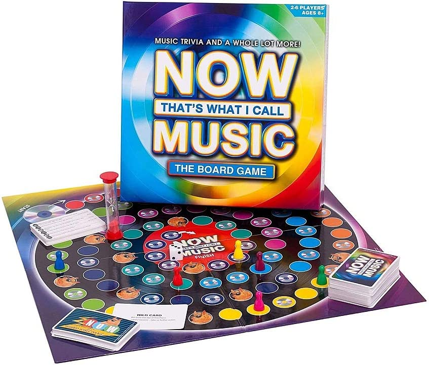 Paul Lamond 6745 Sony Entertainment Now That's What I Call Music Board Game, Multi