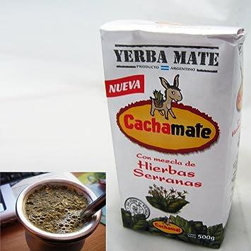 1.1 lbs Cachamate Serranas Herbal Blend Yerba Mate (500g)