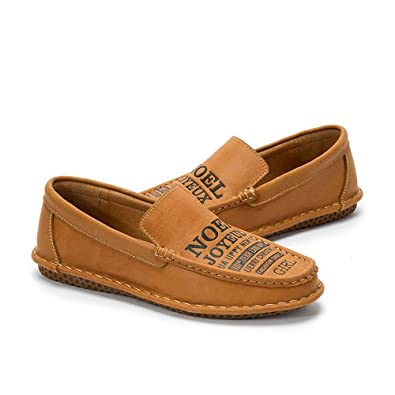 men's Stylish Loafers Flat Comfort Driving Boat Shoes