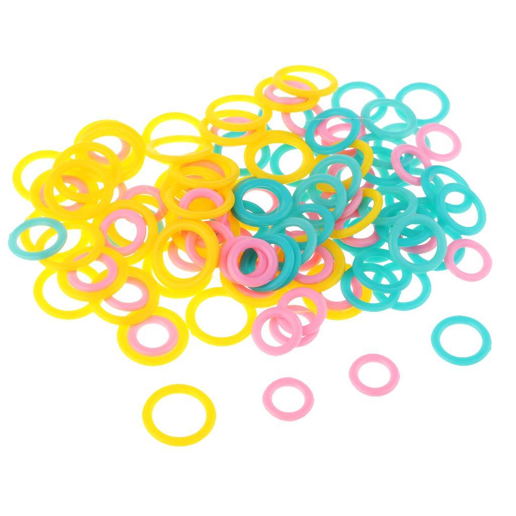 Strickstich Marker Ring, Strickzubehör 200 Stück Strick-Markierringe