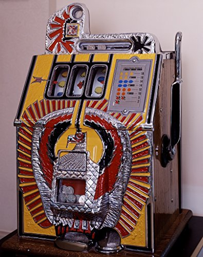 18 x 24 Art Canvas Print of Vintage Slot Machine at The Casino Legends Hall of Fame at The Tropicana Hotel and Casino in Las Vegas Nevada r91 [Between 1980 and 2006] by Highsmith, Carol M, ()