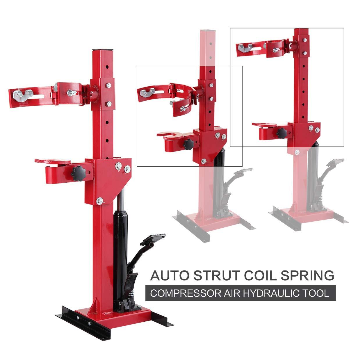 BWM.Co 3 Ton Auto Strut Coil Spring Compressor Hydraulic Tool HD Heavy Duty Auto Tool