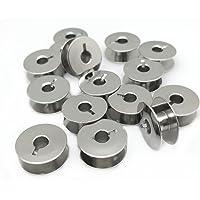 "YEQIN 20 pk""L"" Metal Bobbins for Sewing Machine Alphasew Bernina Brother Riccar Baby Lock +More (55623S) - (SA159…"