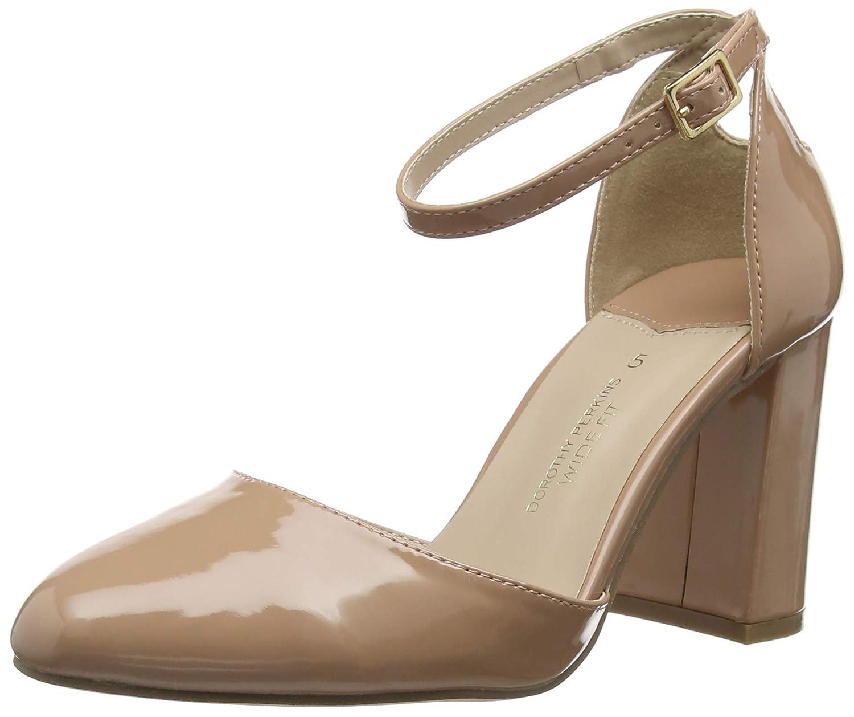 Dorothy Perkins Deena Patent, Zapatos de tacón con Punta Cerrada para Mujer