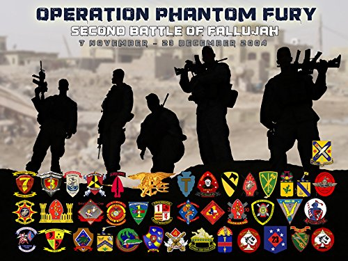 Operation Phantom Fury Poster Second Battle of Fallujah 24x36