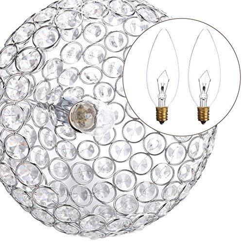 Leoneva Crystal Pendant light Chandeliers Wine Cup Shape Ceiling Light Fixture for Kitchen, Dining Room, Bedroom, Living Room by Leoneva (Image #4)
