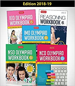 Buy Class 6: Work Book and Reasoning Book Combo for NSO-IMO-IEO-NCO