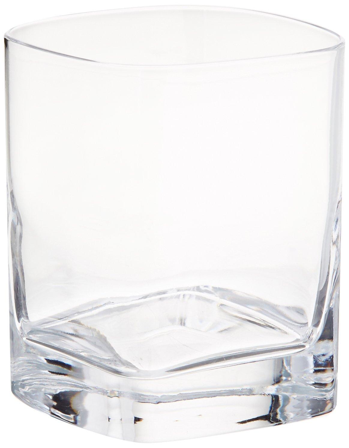 Luigi Bormioli 09830/06 Strauss 9 oz Whisky Rocks Glasses, Set of 6, Clear