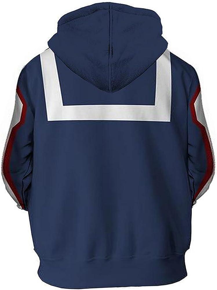 Boku no//My Hero Academia Izuku Midoriya Sweatshirt Hoodie Cosplay Pullover Tops