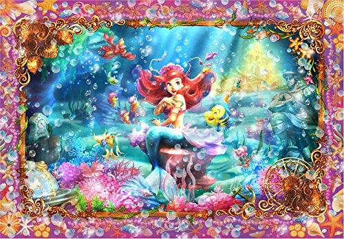 500 piece jigsaw puzzle Stained Art Little Mermaid Beautiful Mermaid (Ariel)500ピース ジグソーパズル ステンドアート リトルマーメイド ビューティフルマーメイド(アリエル) - Puzzle Ariel