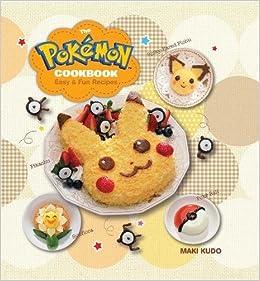 amazon the pokémon cookbook easy fun recipes pokemon maki