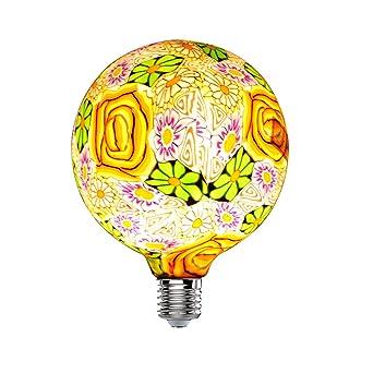 G125φ Led Grand Fleurs Hobaca® Verre En 125mmE27 Ampoule Edison MUzSVGpq