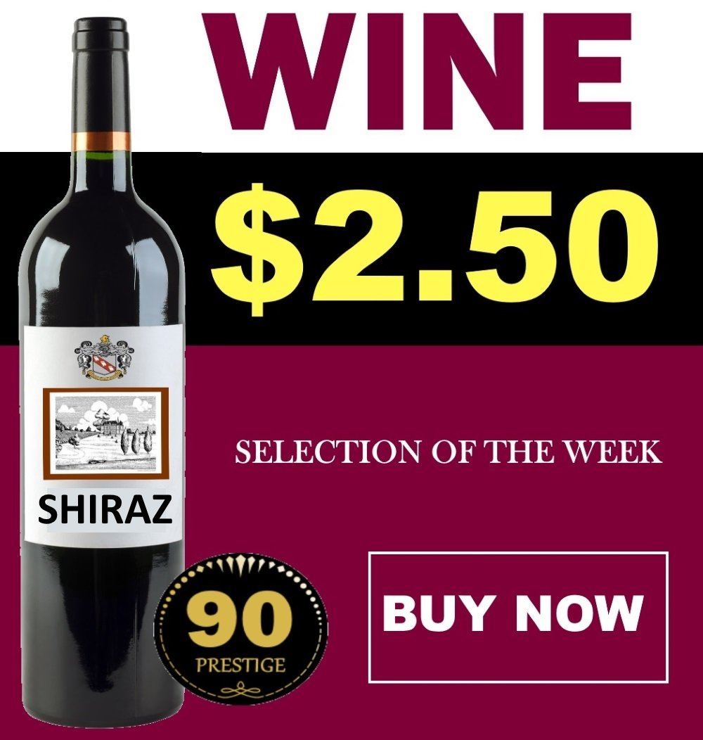 WINE& VIN Shiraz RED Wine KIT Makes 23L