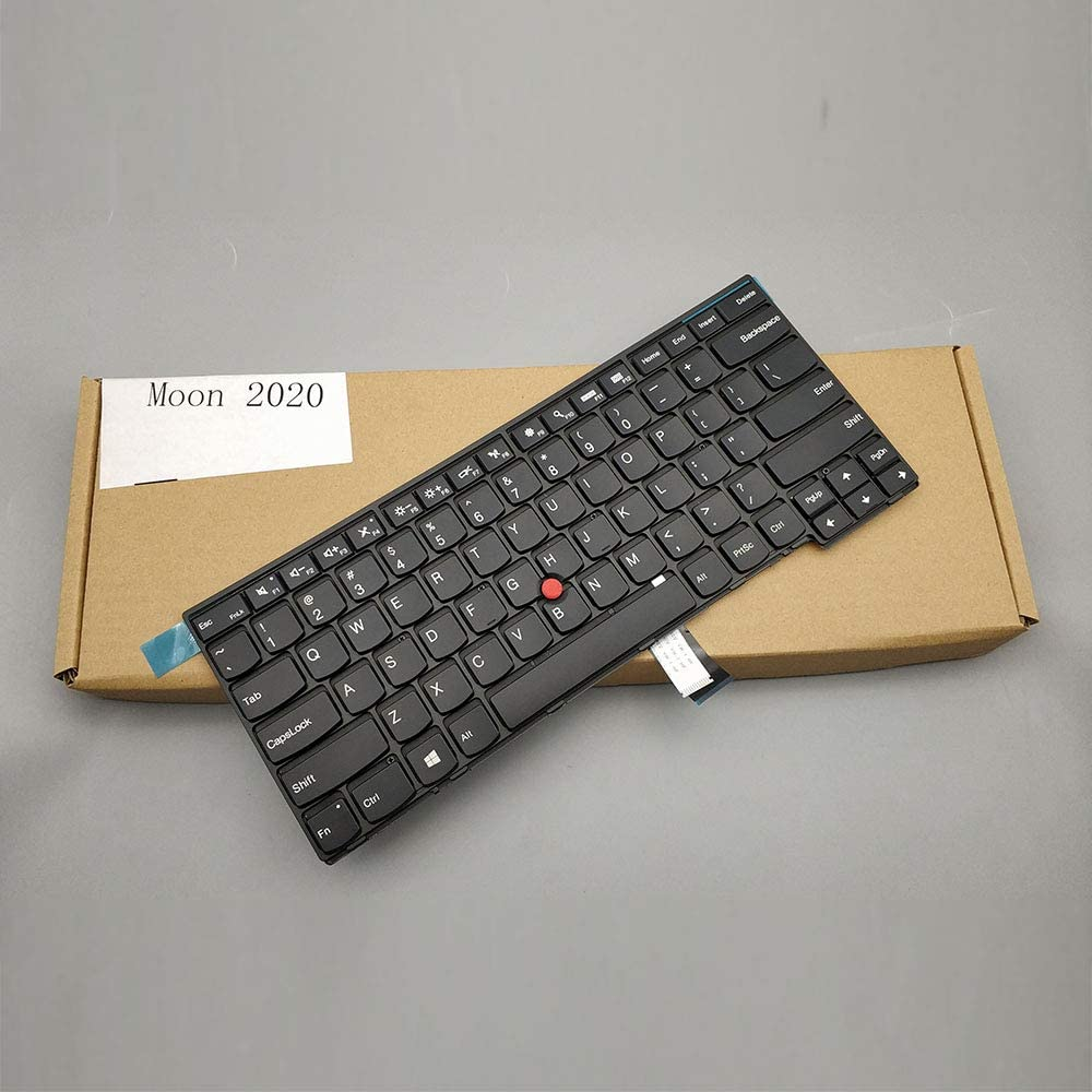 Moon2020 US Layout Replacement Keyboard for Lenovo Thinkpad T440 T440E T440P T440S T450 T450S T460 T431S L440 L450 L460 Compatible 00HW837 00HW866 00HW867 00HW873 00HW906 00UR355