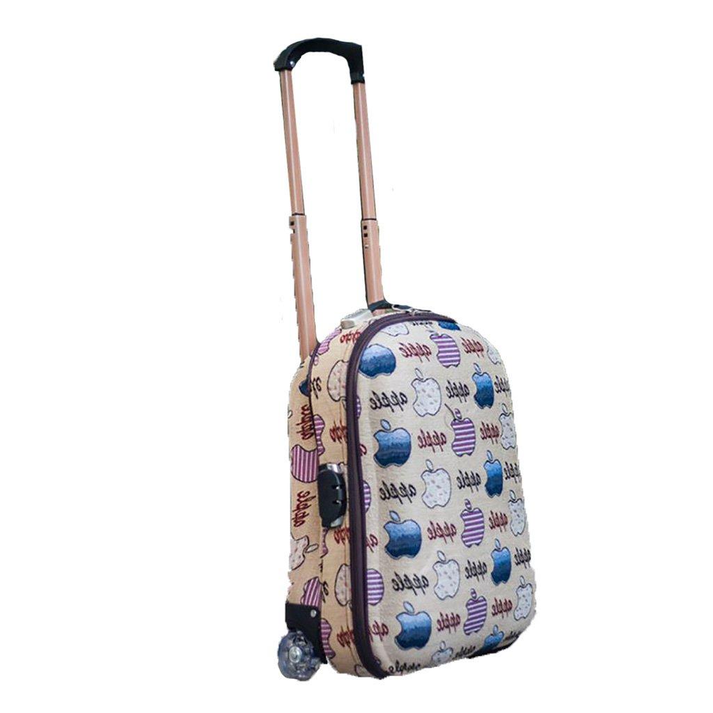 スーツケース トロリーケース20インチ2輪出張旅行外出トロリーバッグ大容量ライトトラベルバッグトラベルバッグドラッグバッグハンドバッグトランク旅客ボックス (色 : A)   B07FMFFWVT