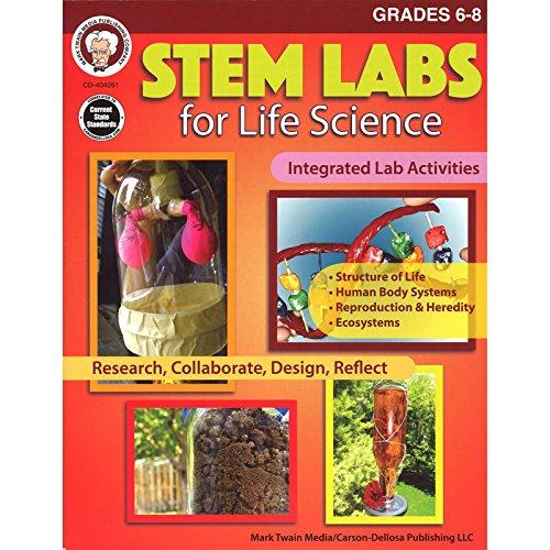 Mark Twain Media STEM Labs for Life Science, Grades 6-8