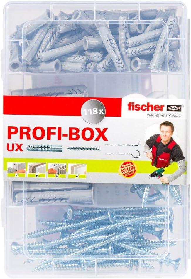 Fischer Master-Box UX avec vis et crochets