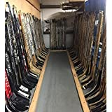 Instant GAME USED hockey sticks collection, lot of 380 sticks