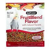 Zupreem Fruit Blend Diet for Medium Birds, 2-Pound