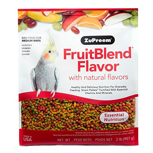 Conure Fruit Blend (Zupreem Fruit Blend Diet for Medium Birds, 2-Pound)