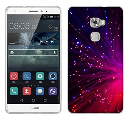 FUBAODA Huawei Mate S Funda, [Espumoso] TPU Parachoques Carcasa Case y Anti-Ara?azos Flexible Funda Protectora para Huawei Mate S