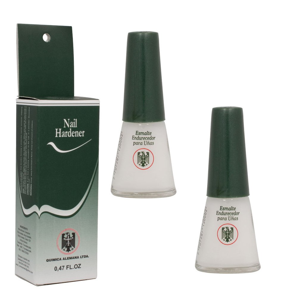 Amazon.com : 2 Bottles Quimica Alemana Nail Hardener Strengthener ...