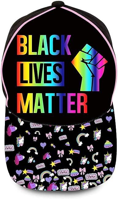 Pink Black Lives Matter Hat