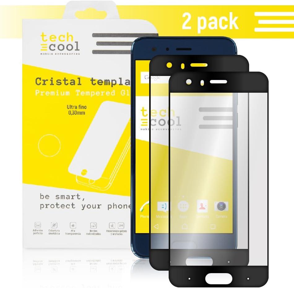 Techcool [Pack-2] Cristal Templado para Wiko Wim Lite [Cubre el ...