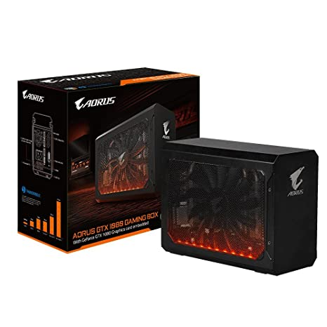 Gigabyte AORUS GTX 1080 Gaming Box GeForce GTX 1080 8GB GDDR5X - Tarjeta gráfica (GeForce GTX 1080, 8 GB, GDDR5X, 10010 MHz, 7680 x 4320 Pixeles, PCI ...