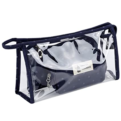 uniui transparente Set de 3 PVC Make Up bolsas para las ...