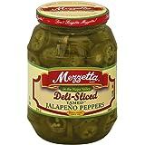 Mezzetta Deli-Sliced Tamed Jalapeno Peppers, 32 Ounce (Pack of 6)