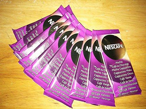 Nescafe Cappucino Chocolate Extra Cream Instant Coffe 10 Sticks 18gr Each